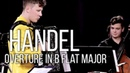 Martynas Levickis Mikroorkéstra – Handel: Overture in B flat major, HWV 336