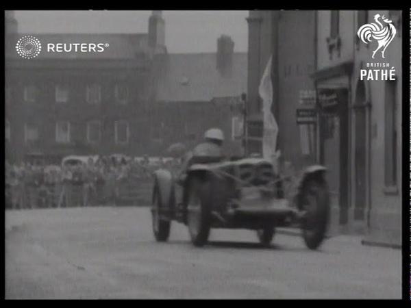 UNITED KINGDOMl MOTOR RACING - Eight spectators killed in TT race tragedy (1936)
