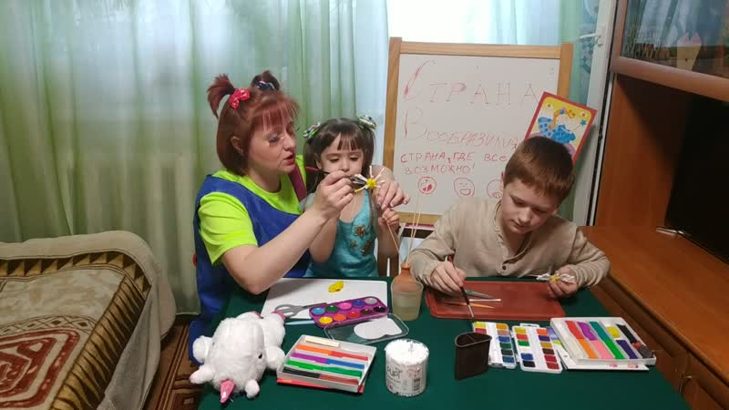 Мастер класс Цветочек с Машулькой красотулькой и ее друзьями