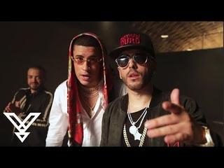"Nacho ""Bailame"" Remix ft. Yandel & Bad Bunny BTS"
