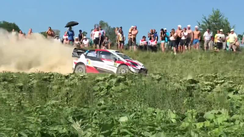 Ott Tänak SS12 Beautiful Jump Rally Estonia 2018