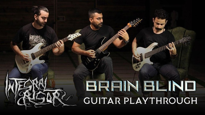 Integral Rigor Brain Blind Guitar Playthrough Oriental Death Metal