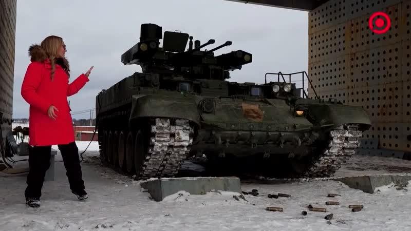 Репортаж RT про сборку БМПТ на Уралвагонзаводе