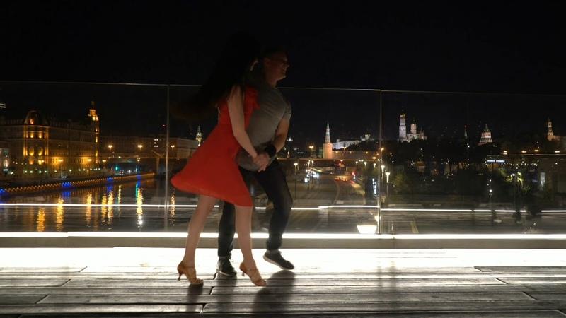 Nikolay Alla. Dance Lambazouk in the Park in Zaryadye. Moscow 29.08.2019