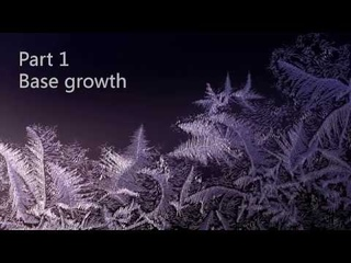 Frozen Flowers Ice Chrystals Part A - Houdini Tutorial in russian language