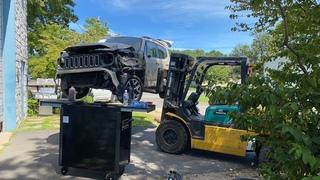 Замена подвески - 2016 JEEP RENEGADE . Дефектовка /подбор запчастей и ремонт ваших авто в США.