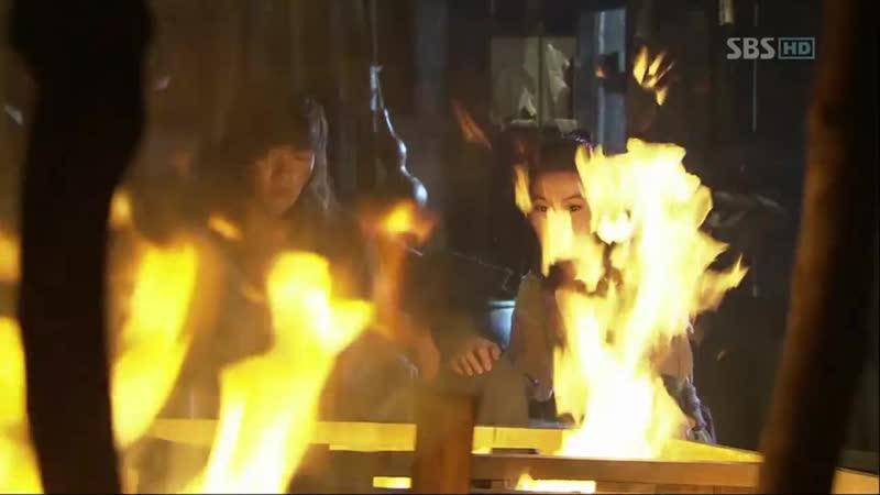 Эпизод из дорамы Воин Пэк Тон Су 13 серия Тон Су Очнись
