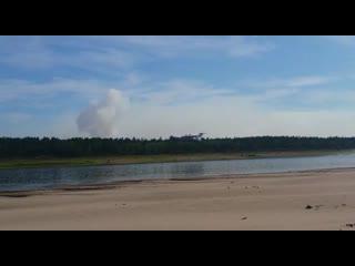 МЧС России продолжает борьбу с лесными пожарами