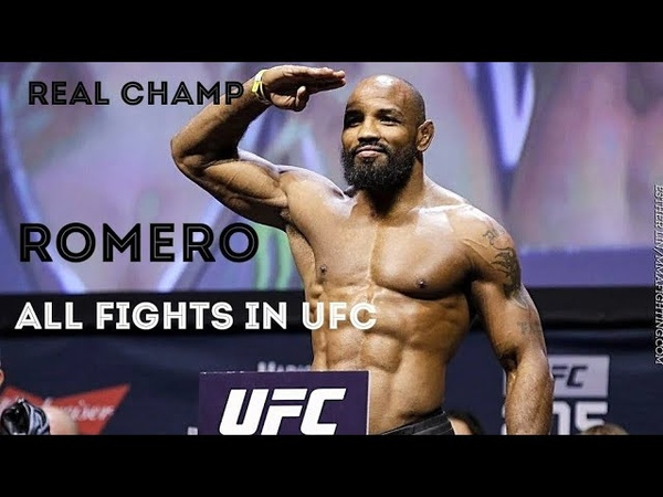 REAL CHAMP WITHOUT A BELT ▶ YOEL Soldier of God ROMERO ◀ All fights in UFC HD 2020