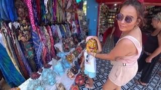 ГОА: Снова шопинг, Сансет маркет в Арамболе, Лекарства в Индии