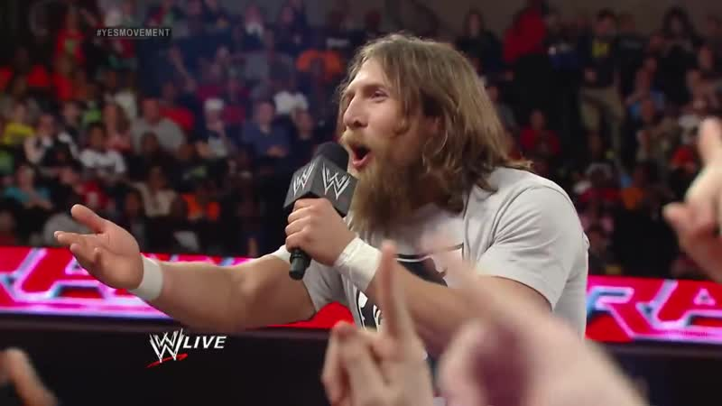 Triple H agrees to face Daniel Bryan at WrestleMania 30- Raw, March 10, 2014