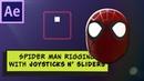 Joysticks n' Sliders SPIDER MAN head rig for beginners
