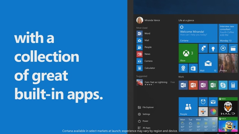 10 Reasons to Upgrade to Windows 10: MUSIC AND MORE