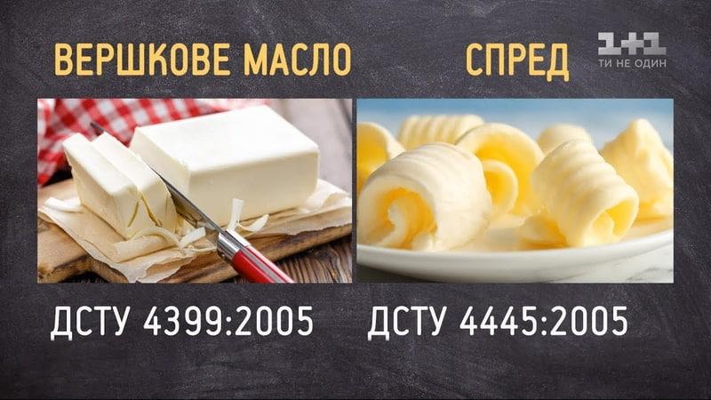 Як вибрати якісне вершкове масло - експерт з якості харчових продуктів Оксана Прокопенко