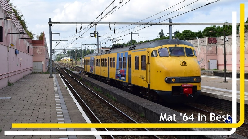Mat '64 466 'De Karel' komt door station Best