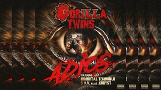 ILL BILL & NEMS (GORILLA TWINS) - Adios ft. Immortal Technique & DV Alias Khryst (Lyric Video)