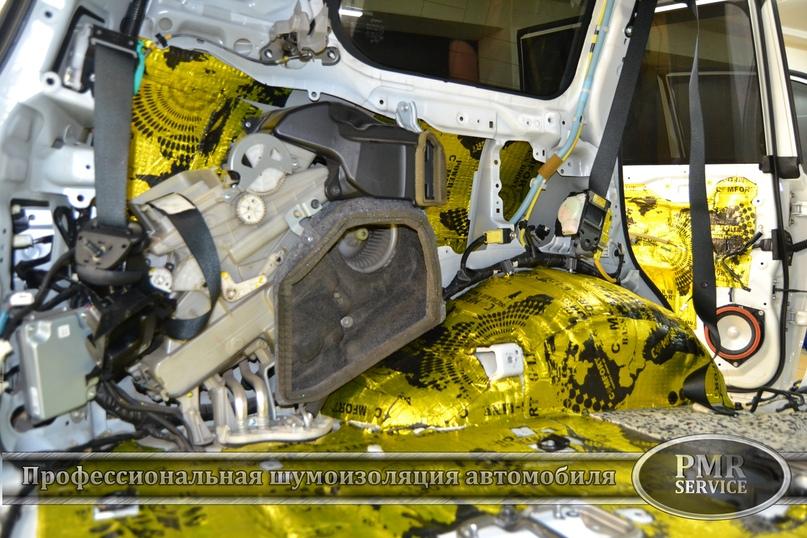 Комплексная шумоизоляция Toyota Land Cruiser 200, изображение №26