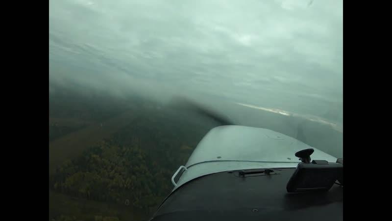 Flight on Cessna-172