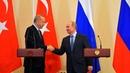 Заявления для прессы Путина и Эрдогана суверенитет и территориальная целостность Сирии незыблемы