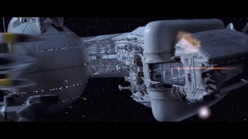 Битва в космосе над Набу Звёздные войны Эпизод 1 Скрытая угроза