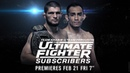 The Ultimate Fighter Subscribers Coaches Reveal