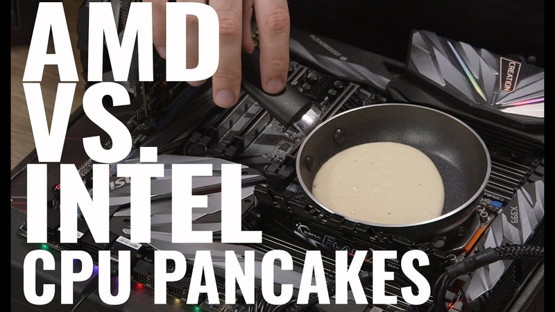 Which CPU Cooks a Better Pancake Intel Core i9-9980XE or AMD Threadripper 2990WX