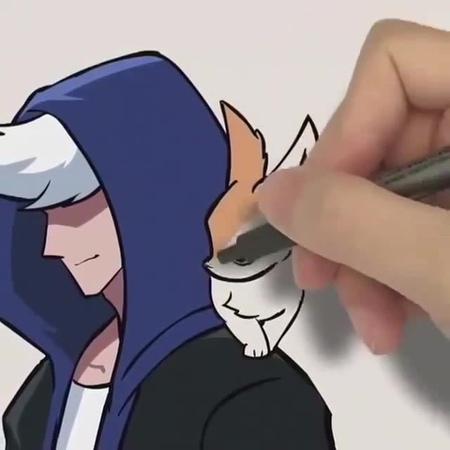 Hand fox · coub коуб