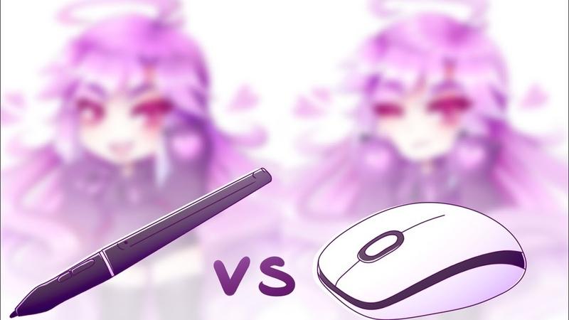 TABLET vs MOUSE   ART CHALLENGE