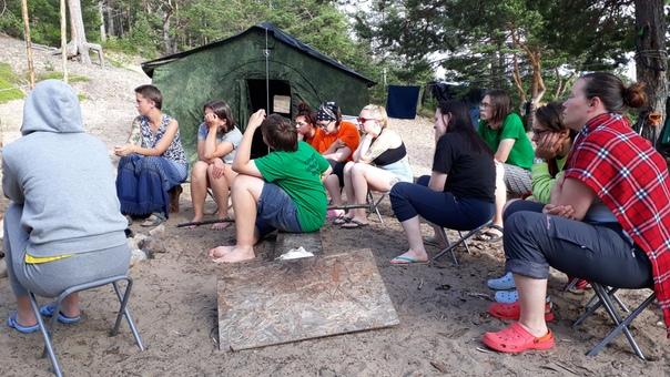 Английский язык в полевом неязыковом лагере