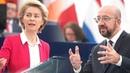 LIVE: Pressekonferenz von Michel und Von der Leyen nach dem Video-Gipfel zu Weißrussland