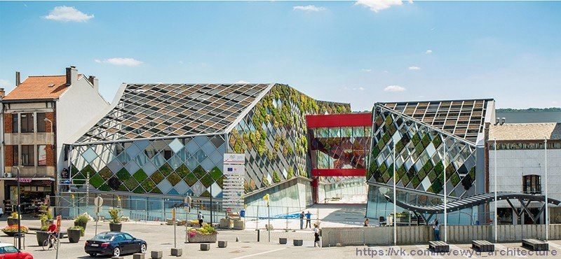 The City Hall of Herstal by Frederic Haesevoets Architecture,