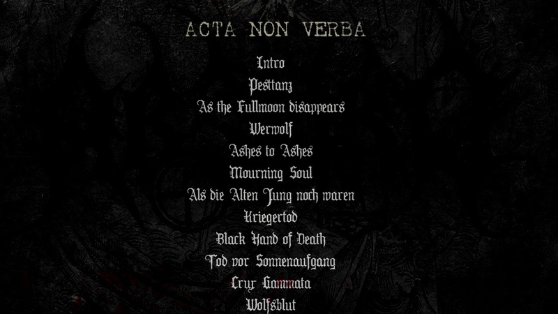 VII BATALLÓN DE LA MUERTE Acta Non Verba CD PROMO VIDEO 2020