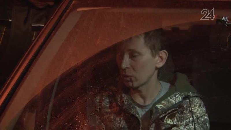 В Казани нетрезвый водитель выехал на встречную полосу прямо перед экипажем ГИБДД