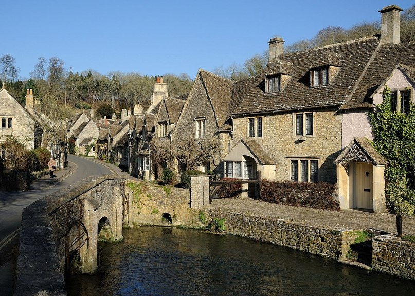 Касл Ком - самая красивая деревня в Англии!, изображение №4