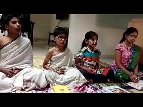 School Kid's Mantrapushpam Recitation