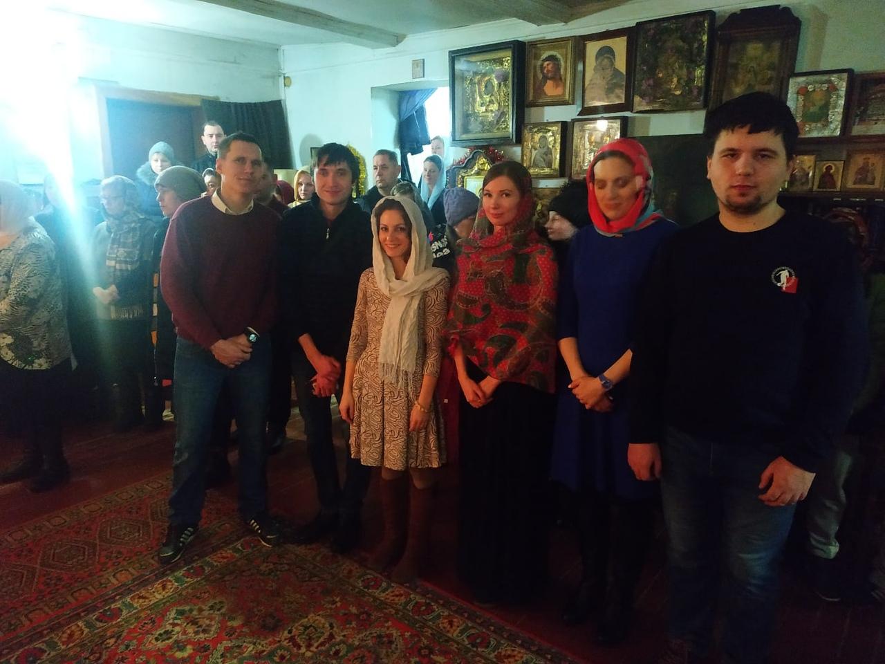Рождество в Черногубово