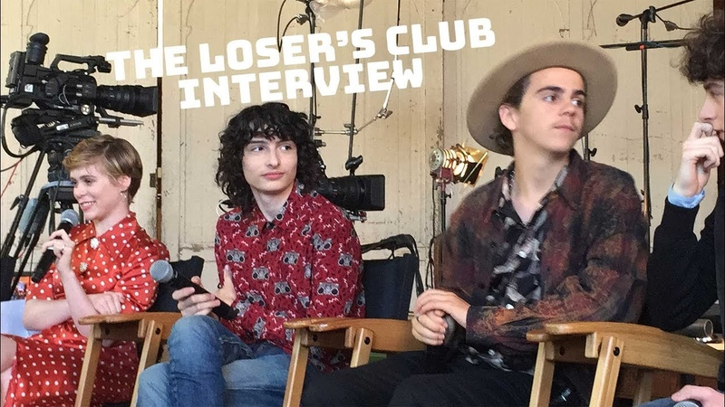 Finn Wolfhard, Jack Dylan Grazer, Sofia Lillis One Word Reaction To Adult Losers Club Cast