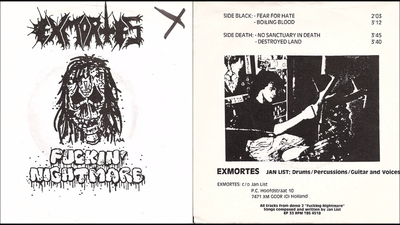 Exmortes [NLD] [Raw Black/Noise] 1989 - Fuckin' Nightmare (Full EP)