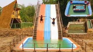 Top 4 Build, Swimming Pool, Mud House, Water Slide,Twin Fish Pond, Underground Snooker,Three Slide