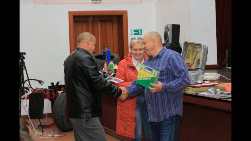 Иркутский Центр Шиноремонта проводит семинар Rossvik в Иркутске 26.09.2016