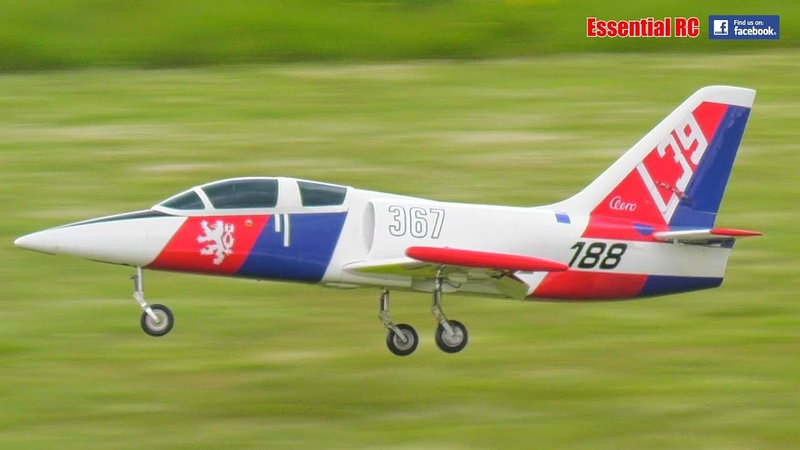 SAVEX L 39 Albatross RC JET on JetCat P60 TOO FAST on FULL THROTTLE