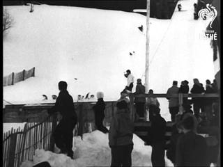 Ski Jumping In France (1949)