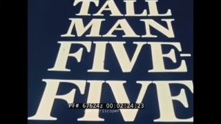 STRATEGIC AIR COMMAND CONVAIR B-58 HUSTLER FILM TALL MAN FIVE FIVE  67624z
