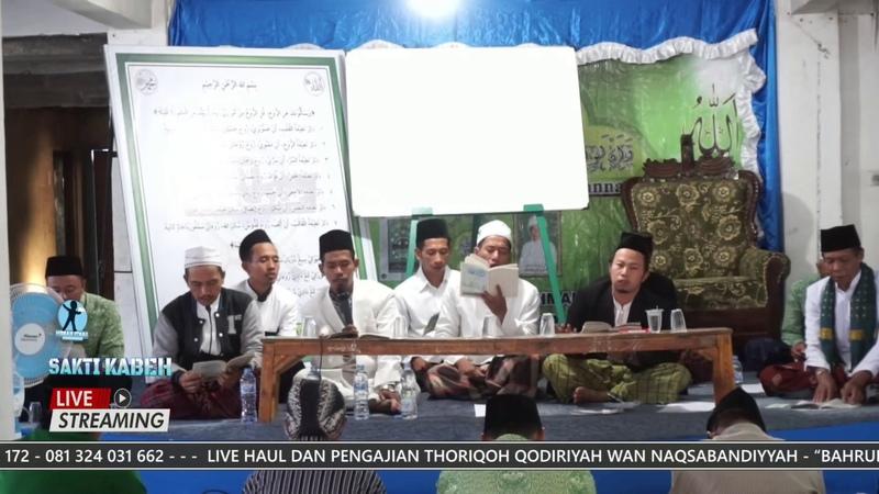 PEMBACAAN MANAQIB SYEKH ABDUL QODIR AL JILANI ACARA HAUL EPS 02