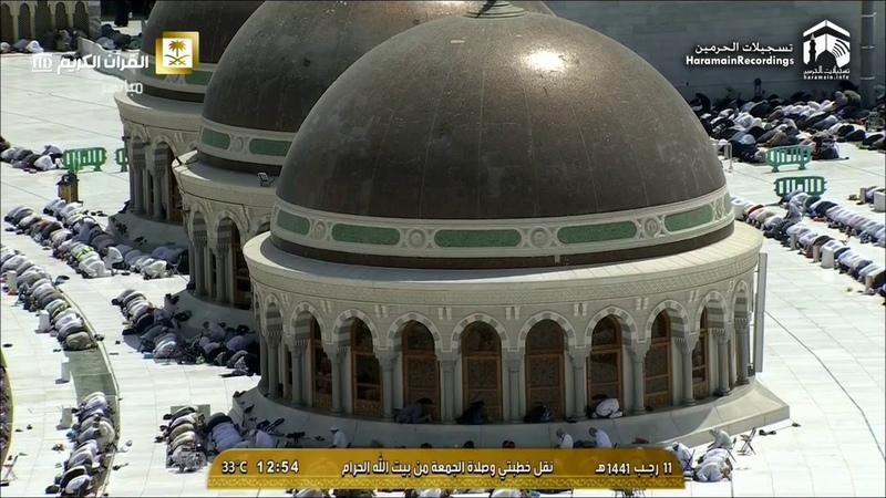6th Mar 2020 Makkah Jumu'ah Salaah Sheikh Juhany