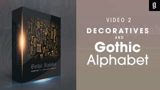 Готика, Алфавит и Декоративные Элементы. Видео 2