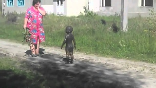 Мама в панике - сын оказался пришельцем (прикол 2014)