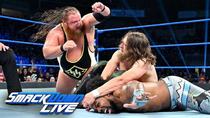 Xavier Woods vs. Otis vs. Daniel Bryan Triple Threat Match: SmackDown LIVE July 9 2019