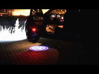 лазерный авто проекция логотипа