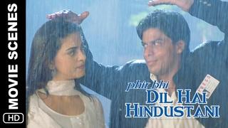 Tum Ko Kya Pasand Hai?   Phir Bhi Dil Hai Hindustani   Movie Scene   Shah Rukh Khan, Juhi Chawla